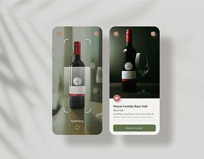 Wine AR App Concept