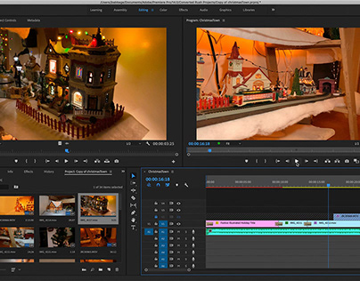 Christmas Town 2020 - Part 2 - Making the Movie