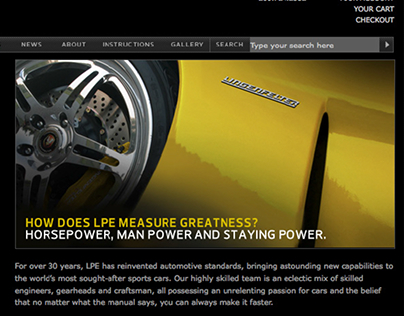 LPE Website | Lingenfelter Performance Engineering