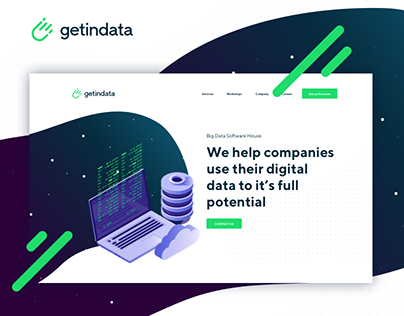 Getindata - Big Data Software House. Branding & Website