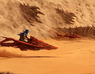 Dune heist