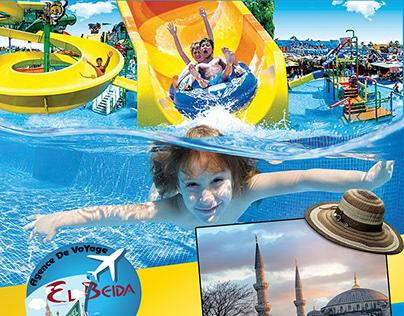 Agence Touristique Travel flayer