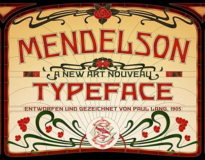 Mendelson Typeface