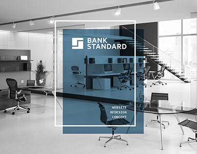 BANK STANDARD WEBSITE REDESIGN CONCEPT