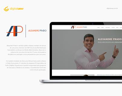 Alexandre Prado - Professor de Direito Administrativo