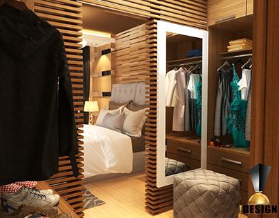 Dressing Room Apartment T