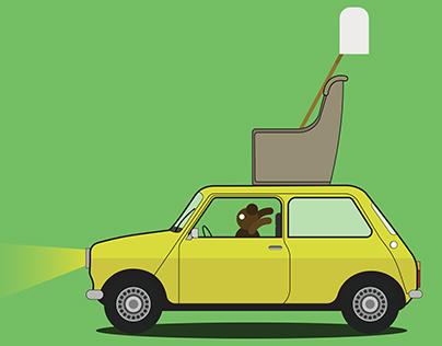 Mr.Bean Car