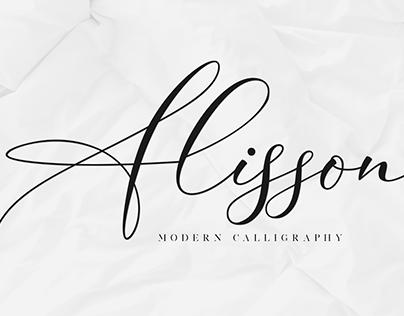 Alisson Modern Calligraphy