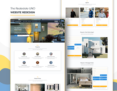 The Realestate UNO (Website Redesign)