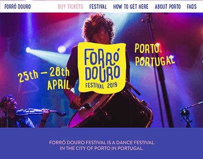 Website Forró Douro