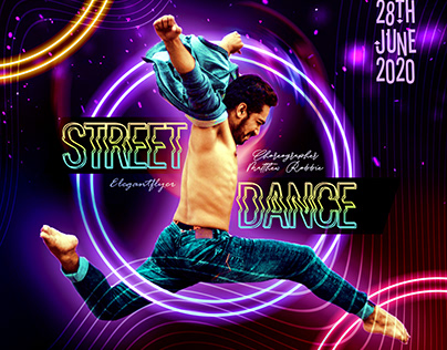 Street Dance – PSD Flyer Template