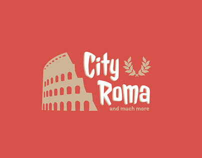 City Roma Tours Logo Design