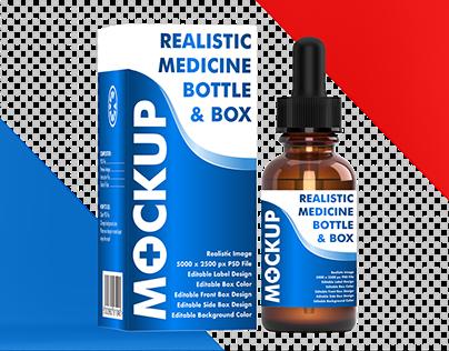 Medicine Packaging Mockup 2