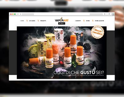 Vaporart / Web site