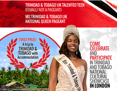 Miss T&T UK National Queen and Talented Teen 2015