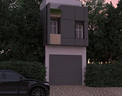 Residential house 3D modeling