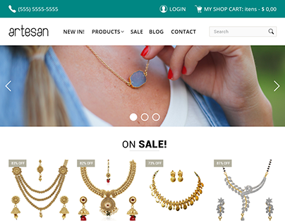 E-Commerce - Online Jewelry Store