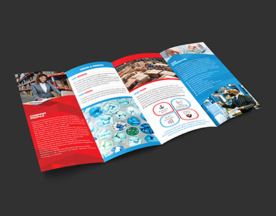 Creative four fold brochure