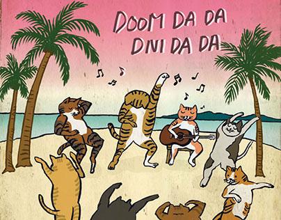 Dancing Cats (흥냥이)