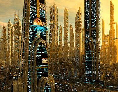 Futuristic Megacity