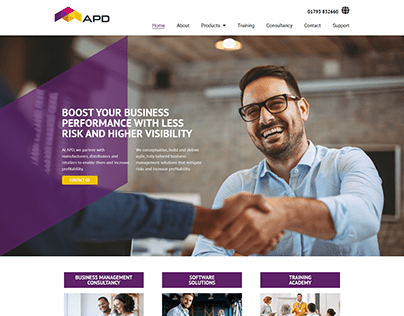 Business Agency WordPress Website