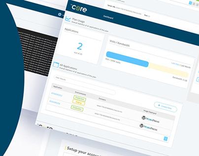 theCore platform | Platform development - Website