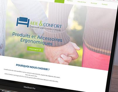 Intégration web / Aide&Confort