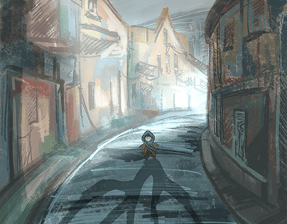 Street of Lines