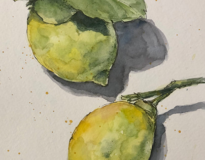 Watercolors sketches