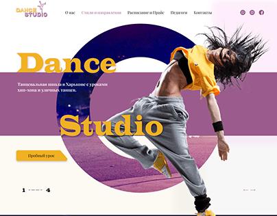 Landing page/Dance studio