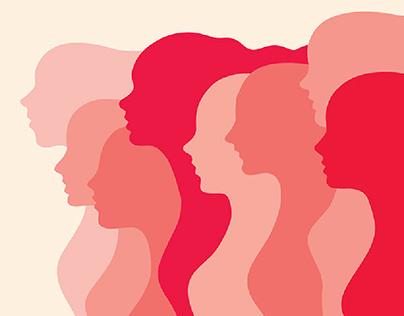 Women side by side
