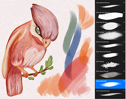 Watercolor brushes for Procreate