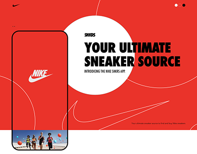 SNKRS for Nike concept