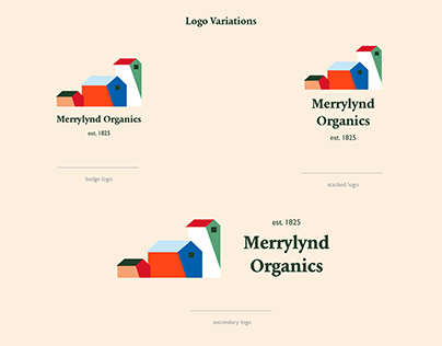 Merrylynd Organics Logo + Branding