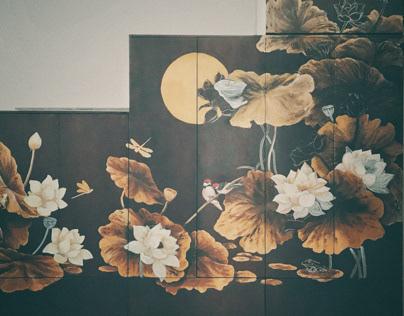 Loading Indochine Art in Closet