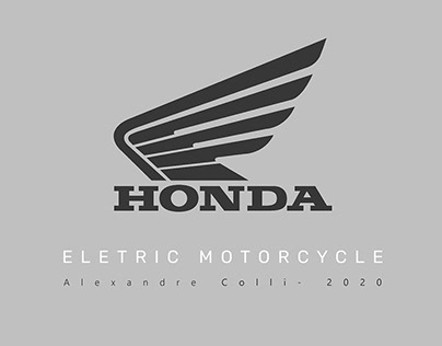 Honda Eletric Motorcycle