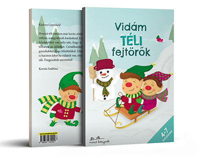 Winter Themed Workbook Ages 4-7