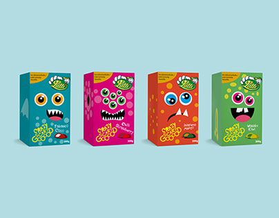 Lutti - Crazy Scary Good - Packaging
