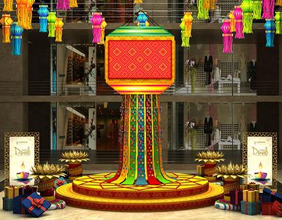 Lodha Diwali Installation