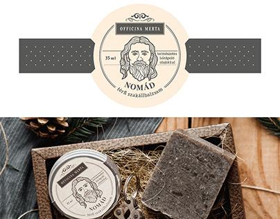 OfficinaMerta NOMAD packaging design