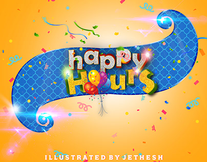 Logo Design For Happy Hour Events,Tirchy