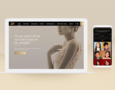 Star Magic - Corporate Website Redesign