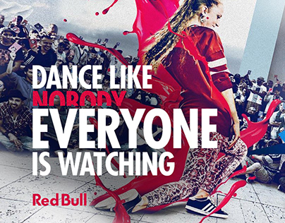 Red Bull / Dance Like Everyone Is Watching