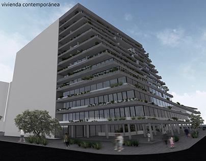 Vivienda Contemporánea - Proyecto Arquitectónico 2019