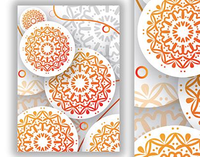 Modern Mandala Illustration