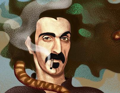 Portrait Of Frank Zappa