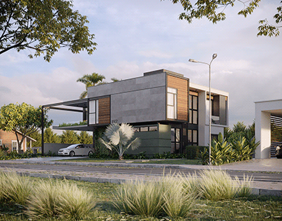 CGI - Steel House