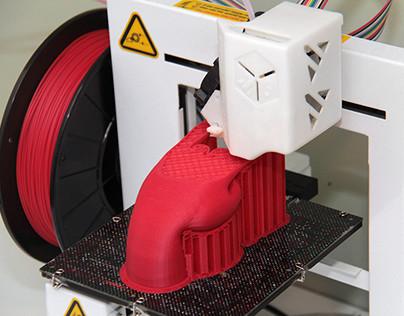 Cabideiro Rock - 3D Print