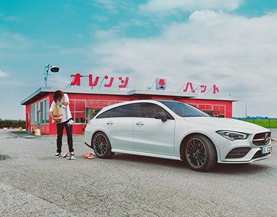 Mercedes with CG Watkins