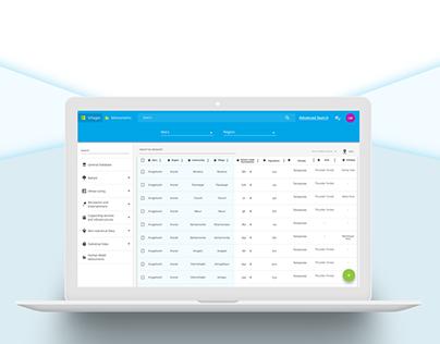 Database UI/UX: Material Design